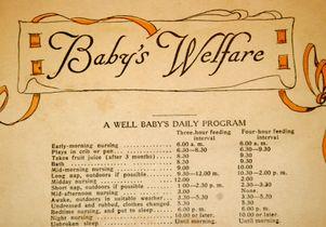 Babys welfare