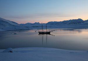 Arctic Circle ship By Janet Biggs