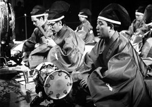 Musicof Japan ensemble.1966