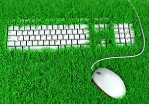 green-grassy-keyboard