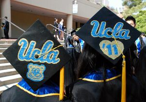 Graduation Gallery Standing Out In A Crowd Ucla