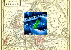 Europe-DNA composite