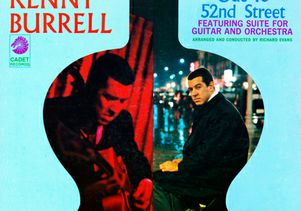 Kenny Burrell album-Ode to 52nd St.