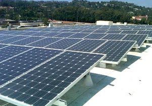 UCLA solar panels