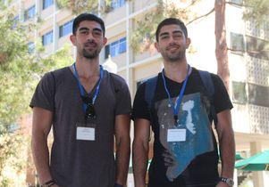 Aryan and Faraz Behnamjou