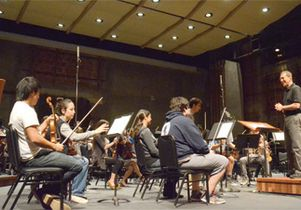 UCLA Philharmonia records CD at Royce Hall
