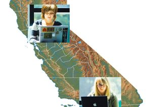 California online students