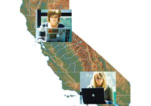 California online students 220 square
