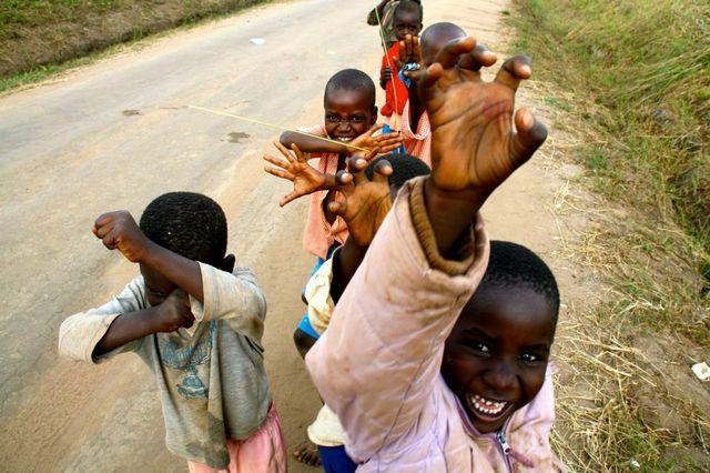 Children in Pader