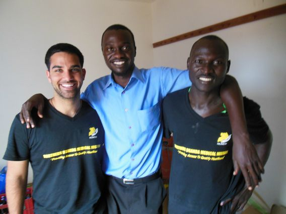 David Joseph and clinicians at NUMEM
