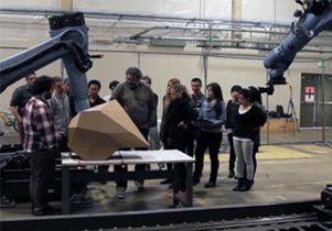 Suprastudio class with robots