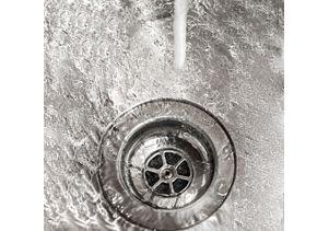 Water down drain