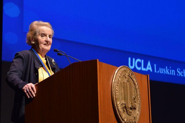 Madeleine Albright speech