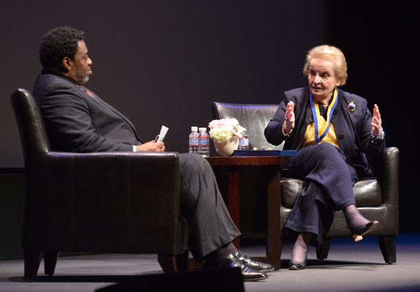 Madeleine Albright and Frank Gilliam