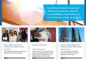 UCLA Spark website screen grab