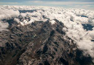 Tropical glacier in Papua New Guinea