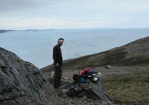Colin Gleason in Greenland