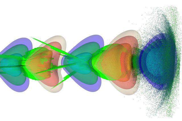 Plasma Wake image UCLA