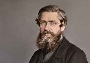 Alfred Russel Wallace photograph