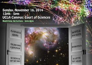 "UCLA will host ""Exploring Your Universe"" this Sunday afternoon. It's free."