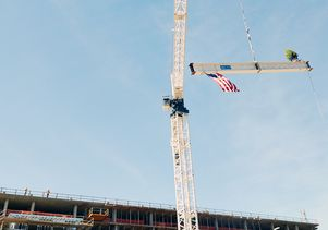 UCLA Luskin Center Topping Out