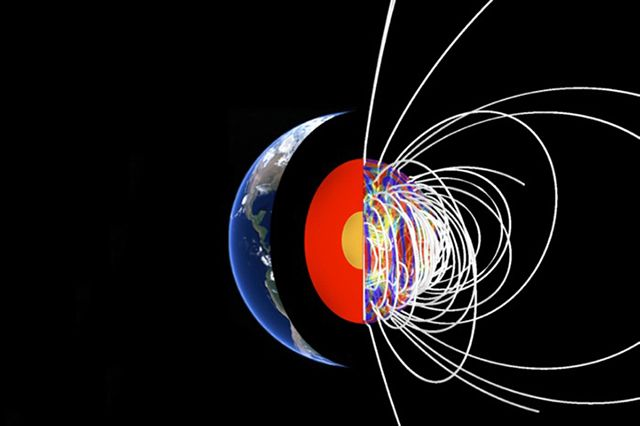 an analysis of the states of the magnetic fields on earth Did you know that you are actually a magnet human beings produce a magnetic field that is closely related to the earth's magnetic field, and this affects how we feel.