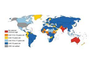 Minimum age map