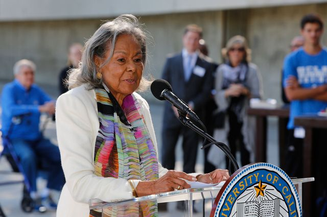 Rachel Robinson speaking