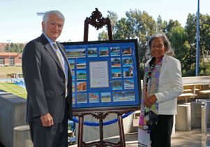 Chancellor Block and Rachel Robinson