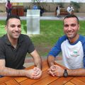 Bryan Pezeshki and Amir Hakimi