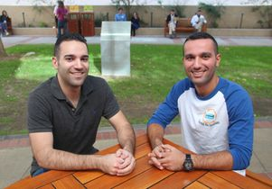 Bryan Pezeshki and Amir Hakimi