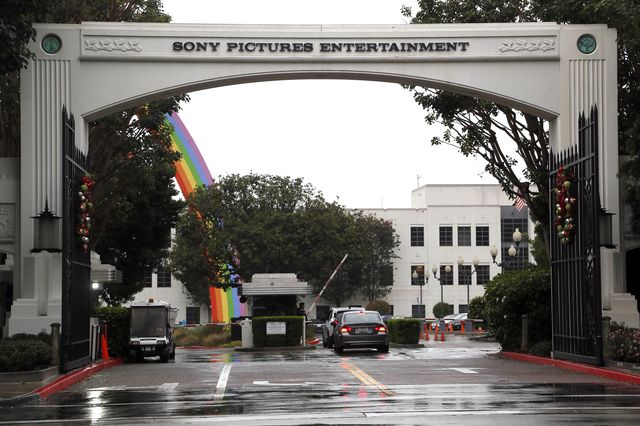 Sony Pictures Studios sign