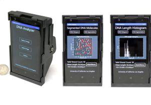 Smartphone microscope views