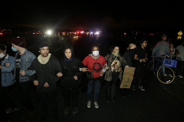 Freeway protests
