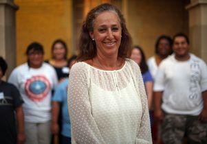 Social worker Gina Kornfeind