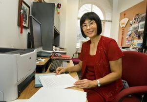 UCLA sociologist Min Zhou