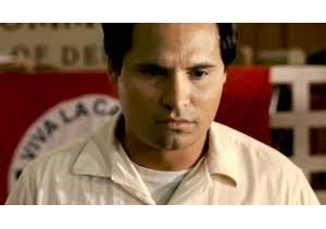 Actor Michael Pena as Cesar Chavez