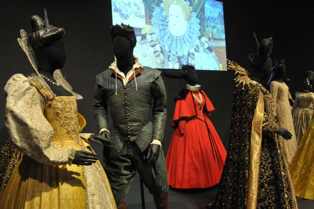 "Costumes from ""Shakespeare in Love"""