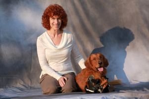Kathy Wyer and Roofus