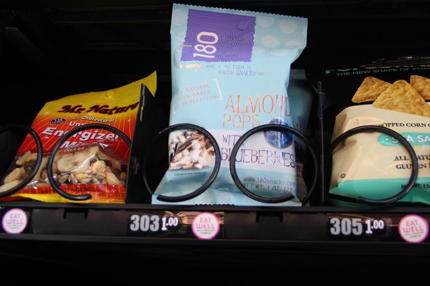 Vending machine for food