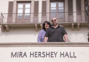 Angela Marciano and Dan Les at Hershey Hall