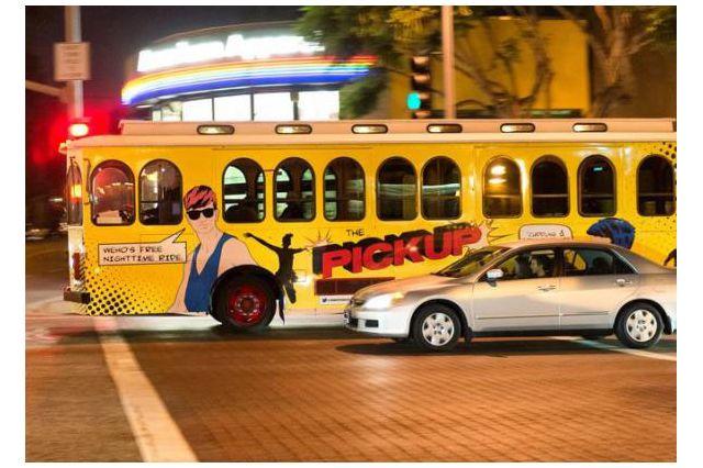 West Hollywood trolley
