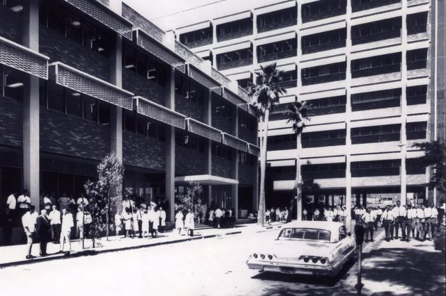 School of Dentistry building, circa 1964