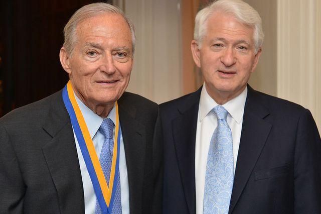 James Easton Receives UCLA Medal