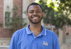 UCLA undergraduate Jeremy Edwards
