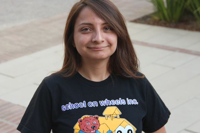 UCLA graduate student Angela Sanchez