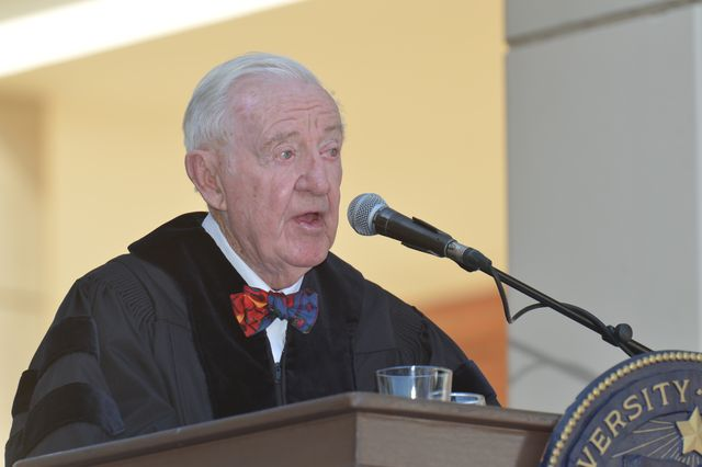 UCLA School of Law commencement 2014 - Justice John Paul Stevens