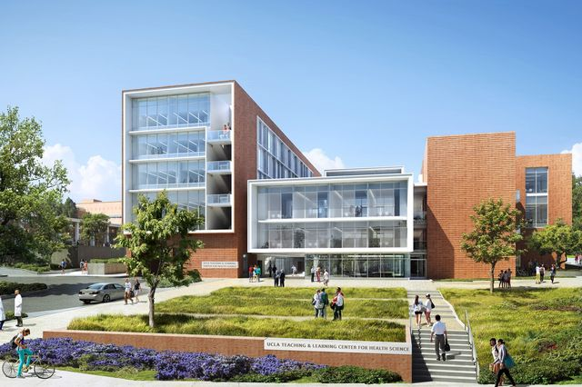 New UCLA Medical School Teaching Building Earns Architectural - Ucla arts and architecture