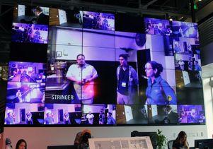 Google Glass monitors