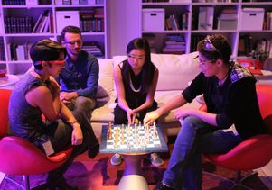 Google Glass chess playing